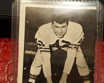 CFL  1961 Topps CFL Football # 12 Ron Watton.Combined shipping