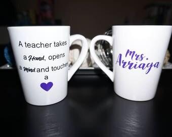 Customized Teacher Coffee Mug
