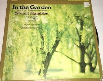 Stuart Hamblen In The Garden Gospel Vinyl Record Album LP