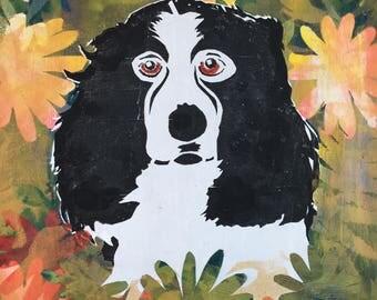 Springer Spaniel Art Print, Spaniel Wall Art Print, Spaniel Print, Springer Spaniel Wall Art Print, Dog Print, Dog Lover's Print