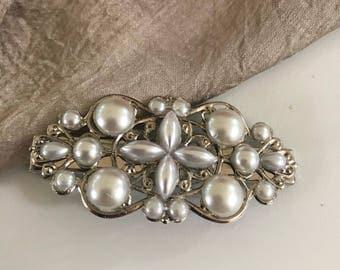 Wedding Hair Clip Pearl Hair Clip Bridal Hair Clip Pearl hair pin Pearl Hair Piece pearl hair pins pearl hair clips