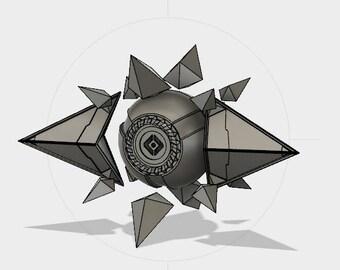 Destiny 2 Curse of Osiris - Sagira STL File