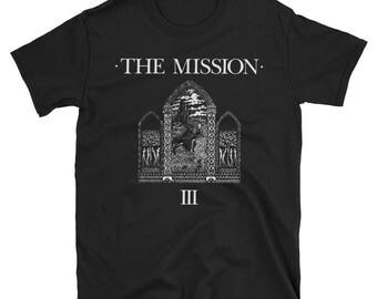 The Mission UK T-Shirt Sisters of Mercy Bauhaus  Joy Division New Order Post Punk Goth