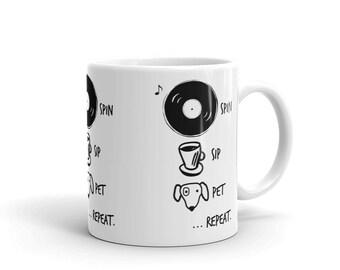 Spin Sip Pet Dog  - Mug