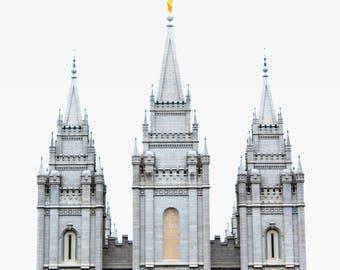 Salt Lake Temple Photo