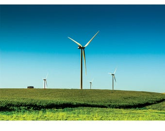 Landscape Photography - Static electricity, Nature Photography, Windmills, Industrial, Prints, Canvas