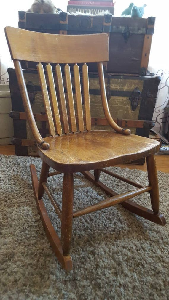 Like this item? - Antique Nursing/Sewing Rocking Chair