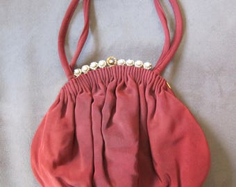 Vintage 1940's Art Deco Guild Original Handbag