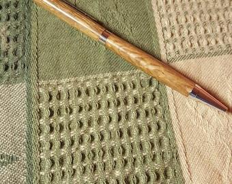 Handmade slim line style pen