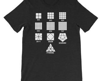 Cubing Events Short-Sleeve Unisex T-Shirt