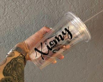 Your Name Here Custom Tumbler Cups