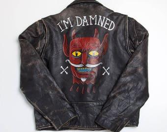 Damned leather jacket