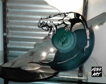 Iguana Lamp