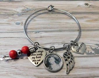 Memory photo customized bracelet
