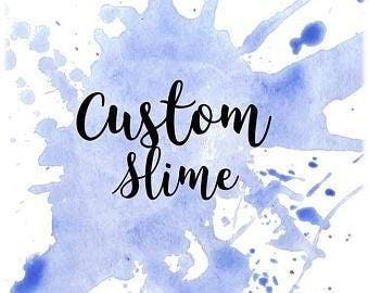 Customize Your Own Slime