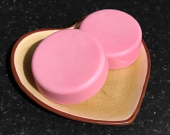 Goat's Milk Soap with Cherry fragrance.