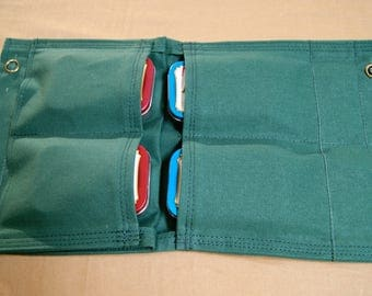 Outdoors Multi Pocket Pouch. Bush Crafting, Hiking, Camping, Hunting, Fishing, First Aid, General Household.