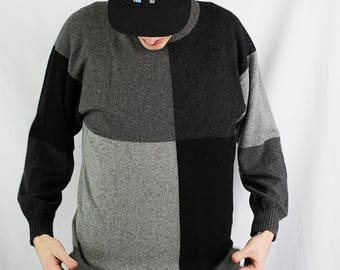 Vintage 80s Saks Fifth Avenue Cashmere Sweater Size M
