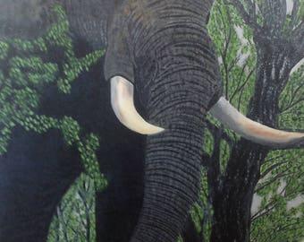 No. 128 - elephant