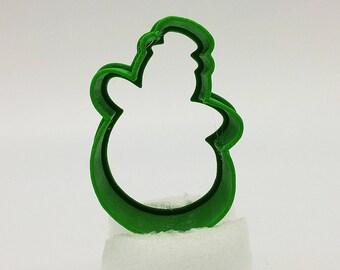 3D Print Snowman Cookie Cutter, 2″/3″/4″/5″ Size, 1″ Deep