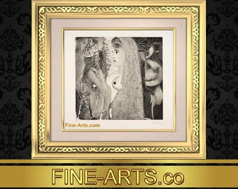 PABLO PICASSO: Fine Artwork Print March 31 1970