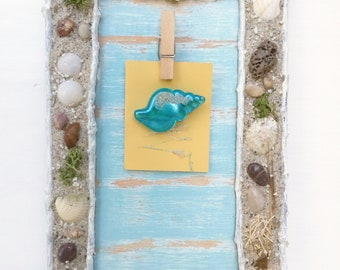 Beach Frame For Photos - Coastal Frame Photos - Beach 3D Wall Art - Beach Style Decoration - Decorate Teenagers Room - Girls Room Beach Art