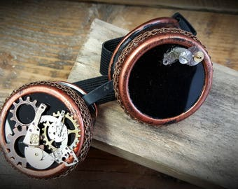 Handmade Steampunk Goggles