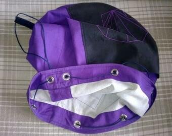 Hand made Vintage Drawstring Cinch Shoulder Bag