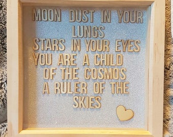 Quote frame