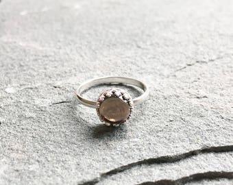 Eloise Ring with Smoky Quartz