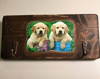 Dogs Leash and Keys Holder