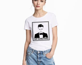 Justin Timberlake Shirt - Justin Timberlake Shirt Women - Justin Timberlake TShirt - Justin Timberlake T Shirt - Womens Shirts - Womens Gift