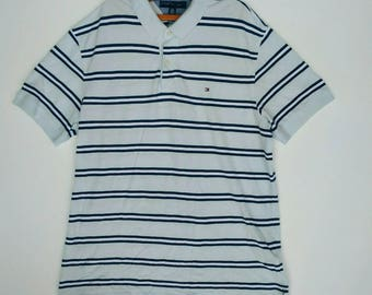 Vintage Tommy Hilfiger Polos Shirt X-LARGE