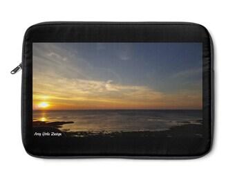 Laptop Sleeve Sunset Print
