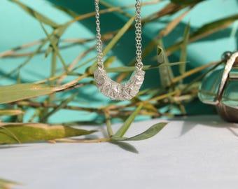 Half pineapple necklace pendant
