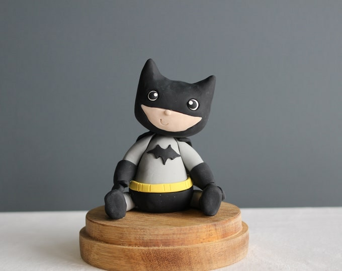 Batman,handmade clay model, action figure (Without Base)
