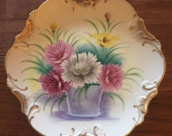late 19th century ceramic plate
