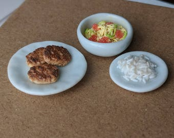 Polymer Clay Miniature Japanese Food