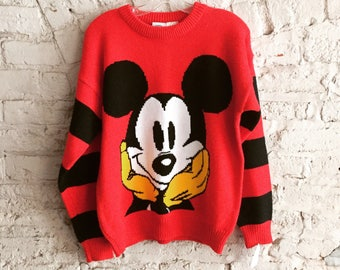 1980s Mickey Mouse sweater