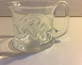 Frank Thrower, Dartington Glass, Prince of Wales Tankard 1969 Numbered