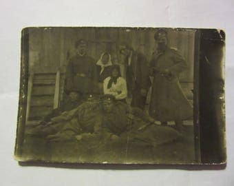 WWI Imperial Russia Army soldiers  real Photo