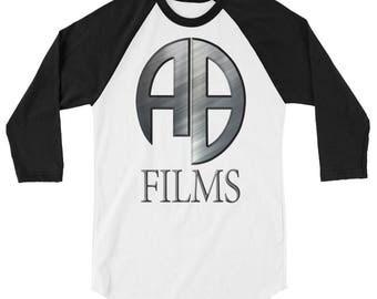 AB Films 3/4 sleeve raglan shirt