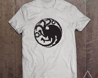 House Targaryan Sigil - Game Of Thrones T-Shirt