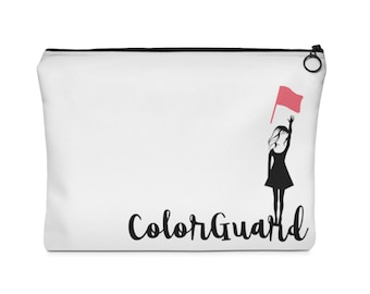 Colorguard Flag Carry All Pouch  - Two Sizes - color guard, winter guard, winterguard, dru