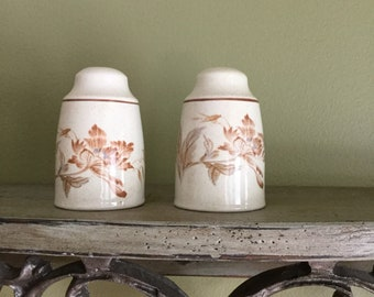ROYAL ALBERT Summer Fantasy Salt and Pepper Shakers made in England