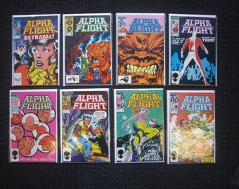 "Alpha Flight lot - #8 to #19 Run - #17 9.8 copy ""Wolverine"""