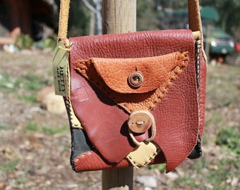 Patchwork Leather Shoulder Bag
