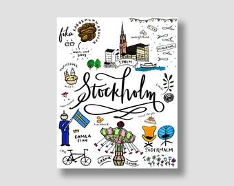 Stockholm illustration