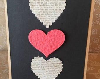 Handmade Heart Trio Card