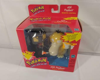 Original 90s Pokemon #54 Psyduck Remote Control Figure/ Toy